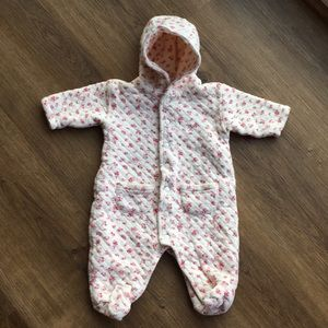 Ralph Lauren One- Piece Quilted  0-3 Month